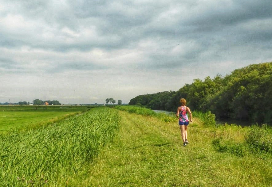 De Woude - hardlopen