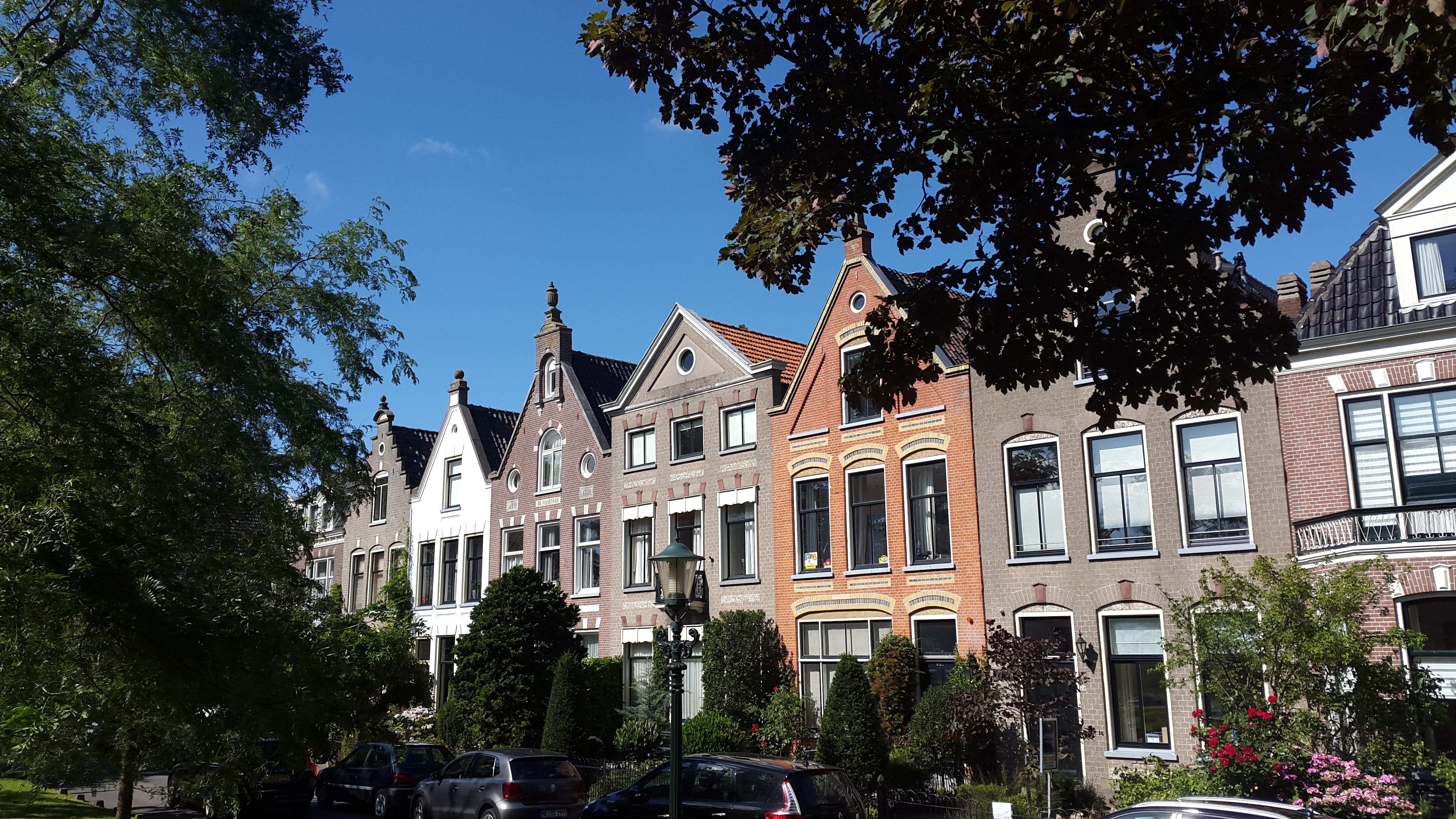 Alkmaar, huisjes met prachtige gevels