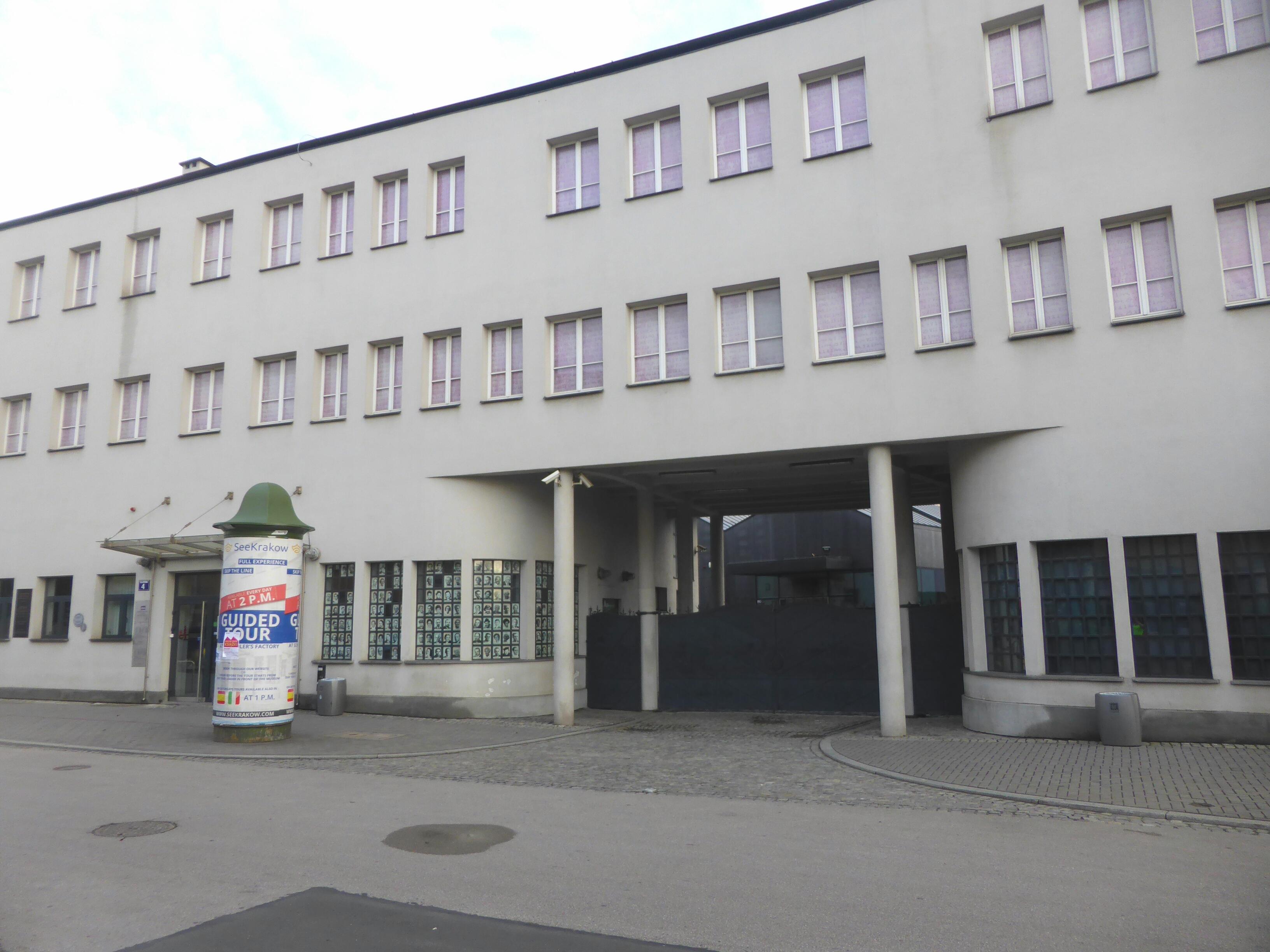 Hardlopen in Krakau, Schindler's fabiek