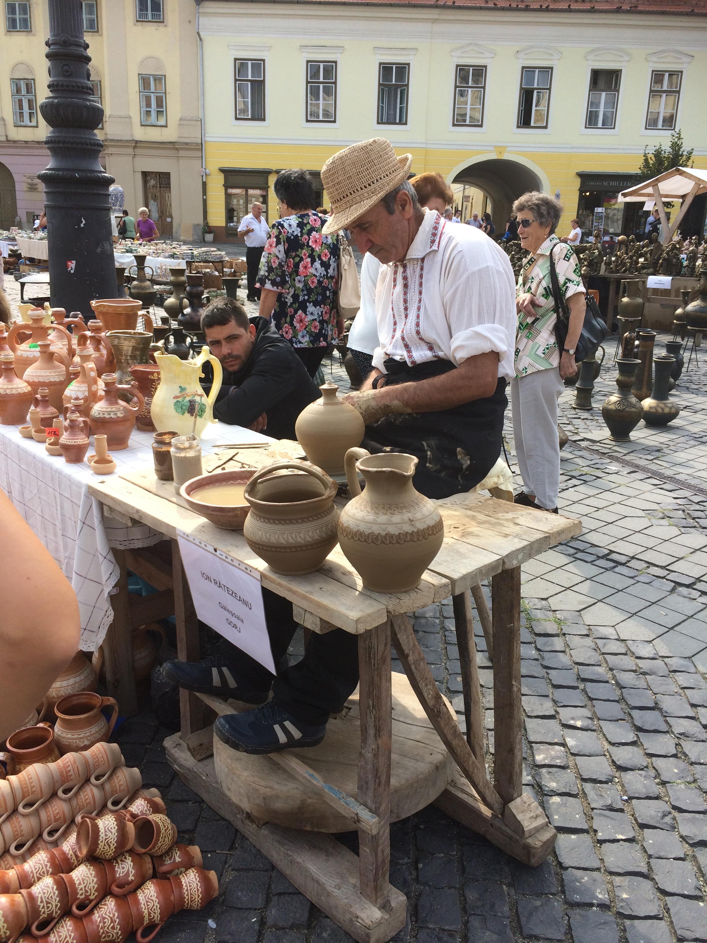 Sibiu, een pottenbakker in de 21e eeuw