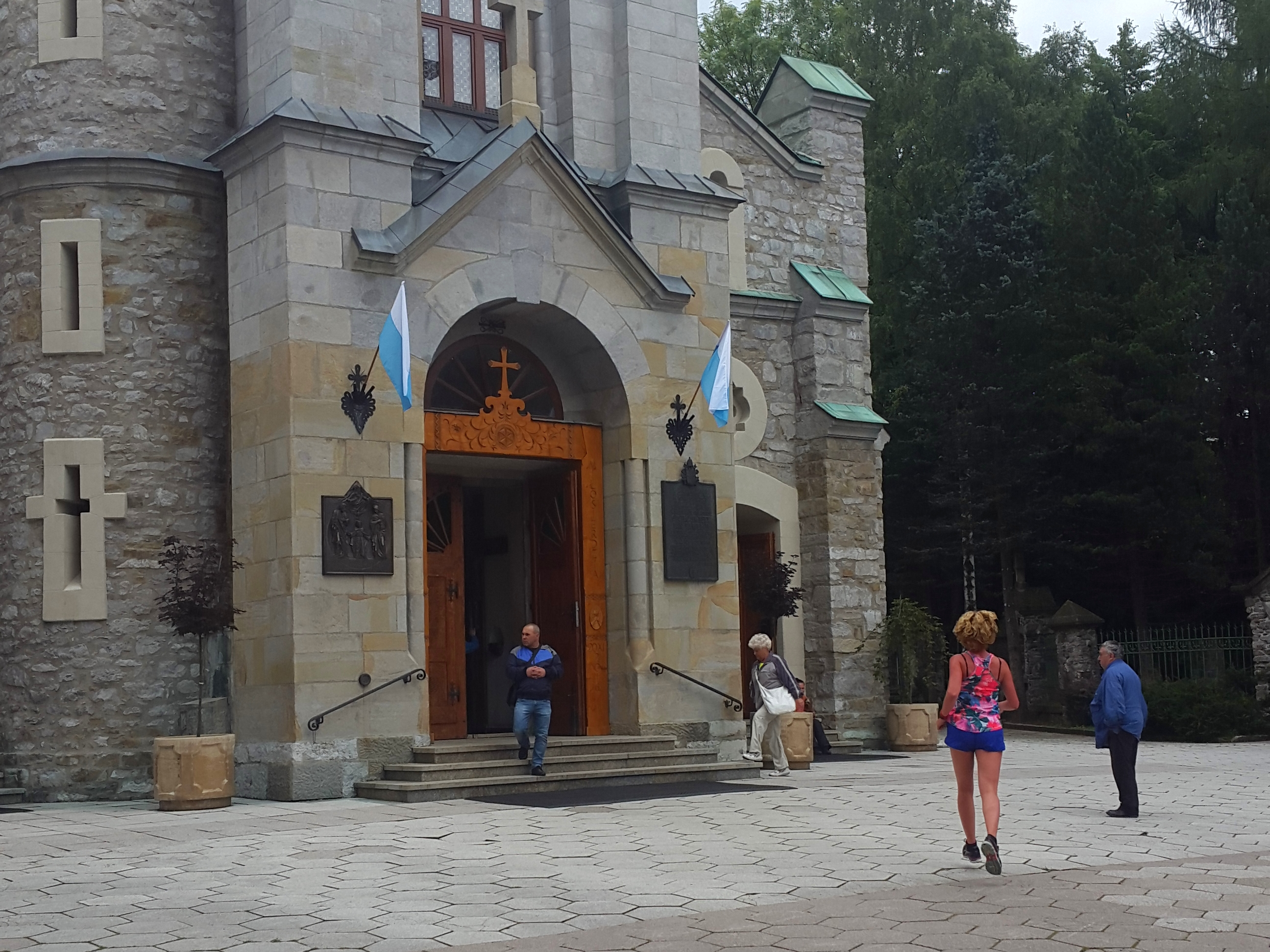 Zakopane, witte kerk