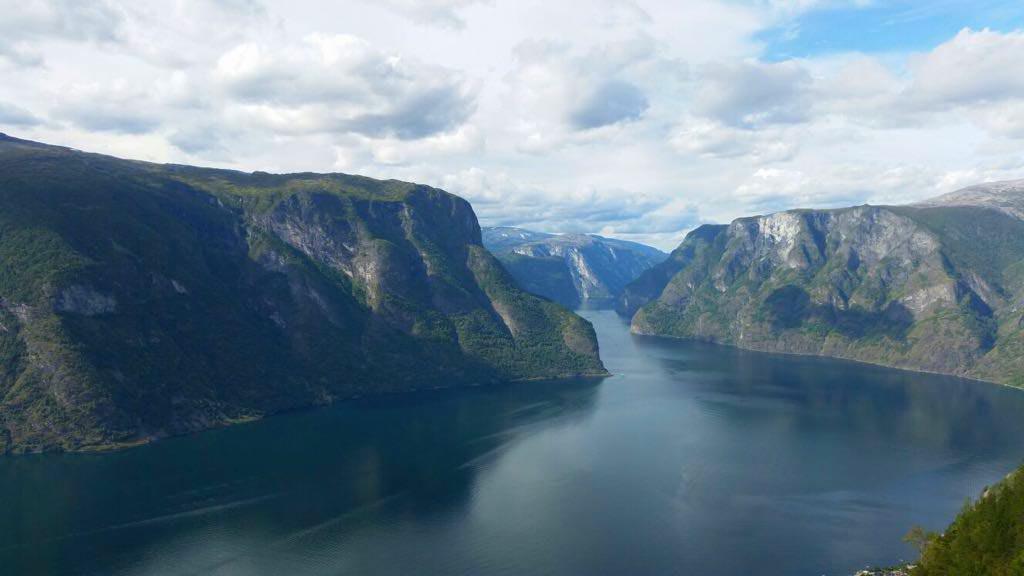 Esther, uitzicht over het fjord