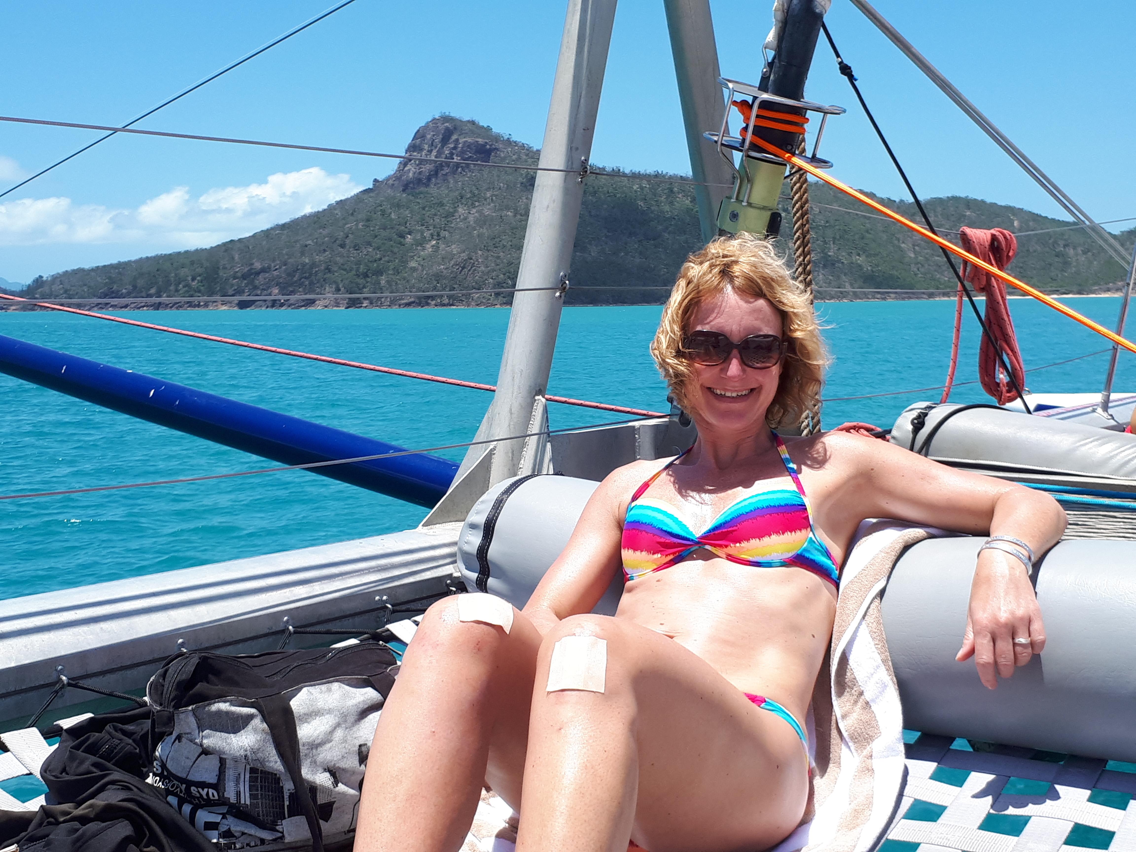 Hamilton Island, catamaran