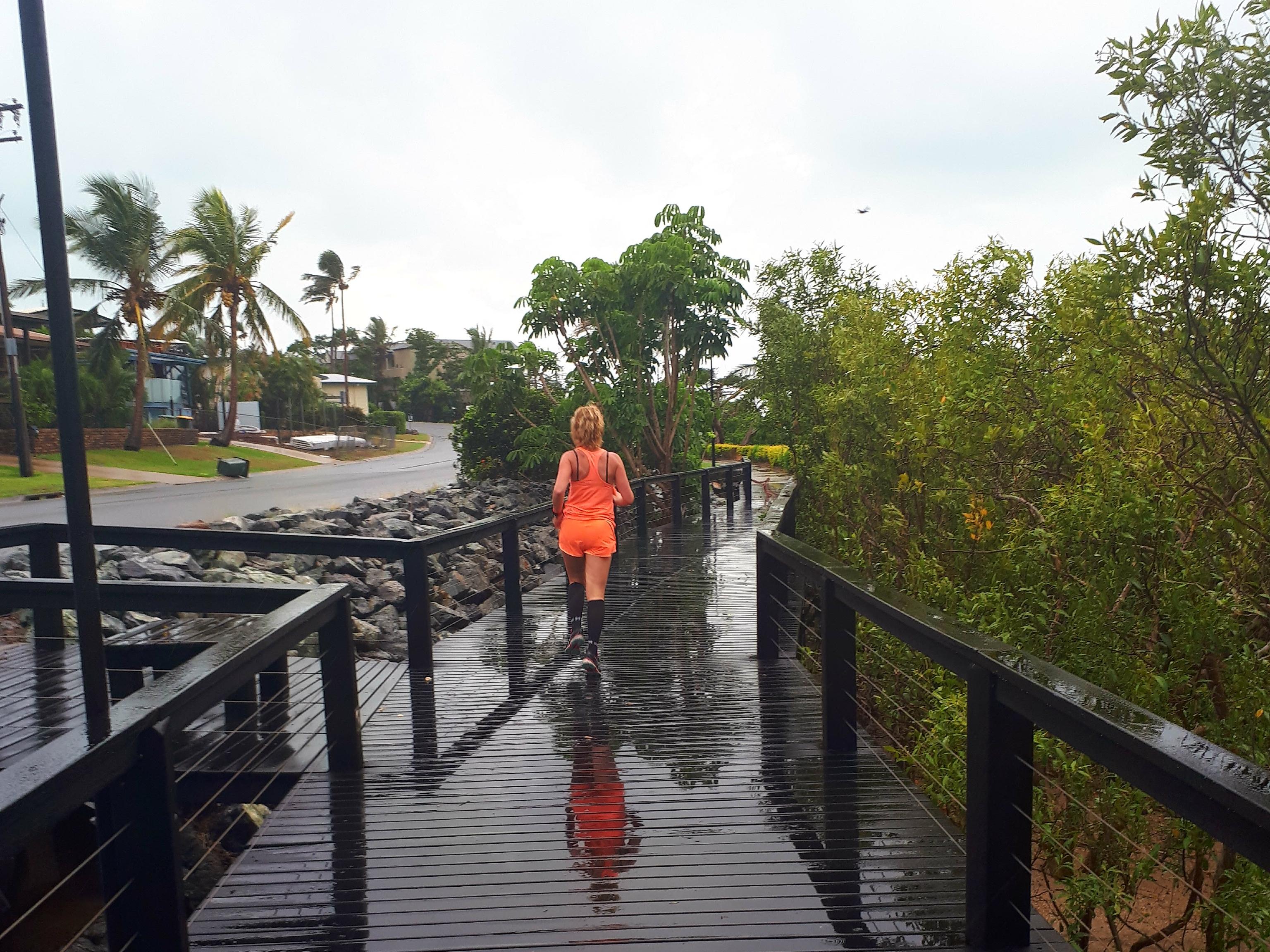 Hardlopen in Airlie Beach, Bicentennial Walkway