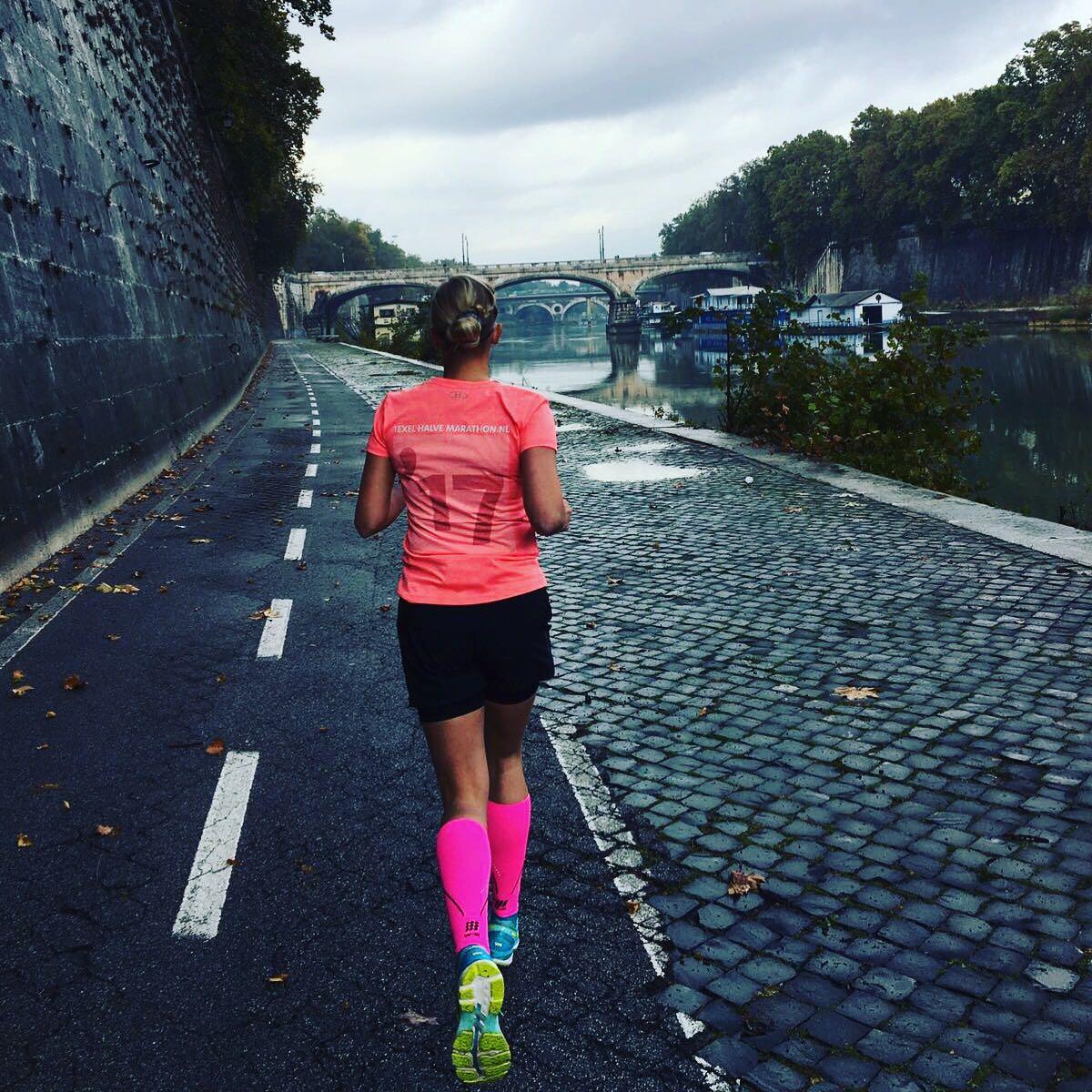 Runninggirl van de maand, in Rome