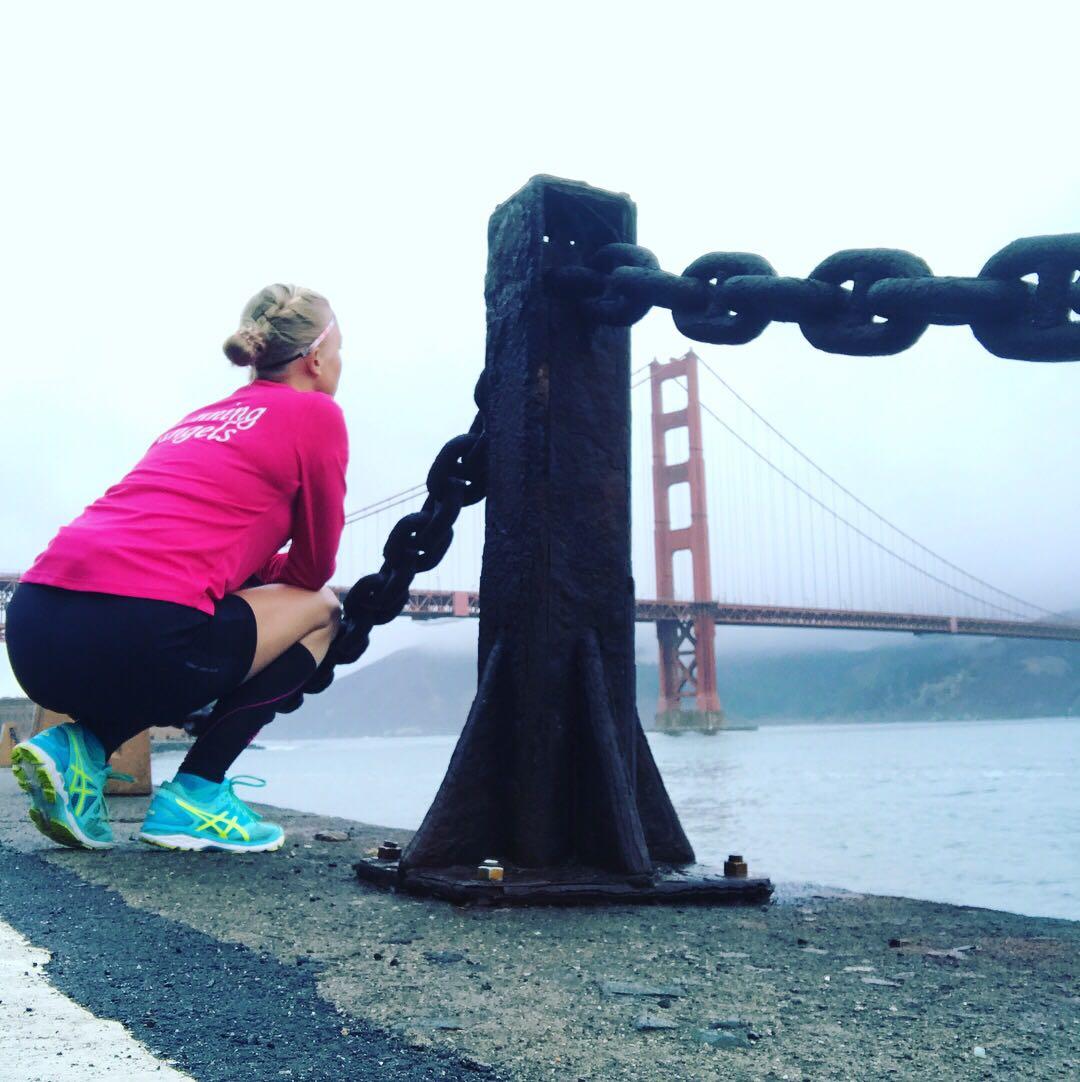 Runninggirl van de maand, Golden gate Bridge