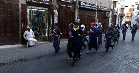 Girls Run Online Maart Saoedi women