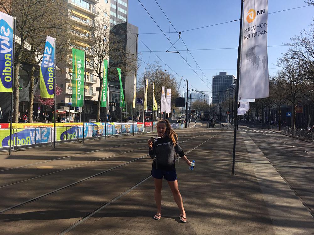 Runninggirl van de maand Debbie Meijer 2