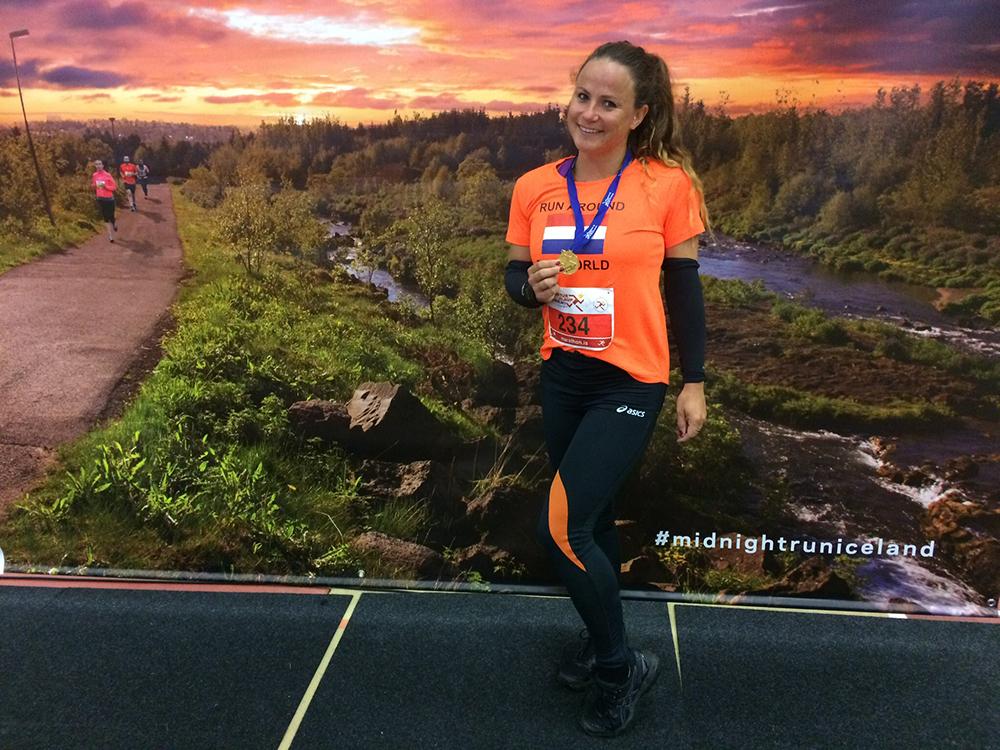 Runninggirl van de maand Debbie Meijer 3