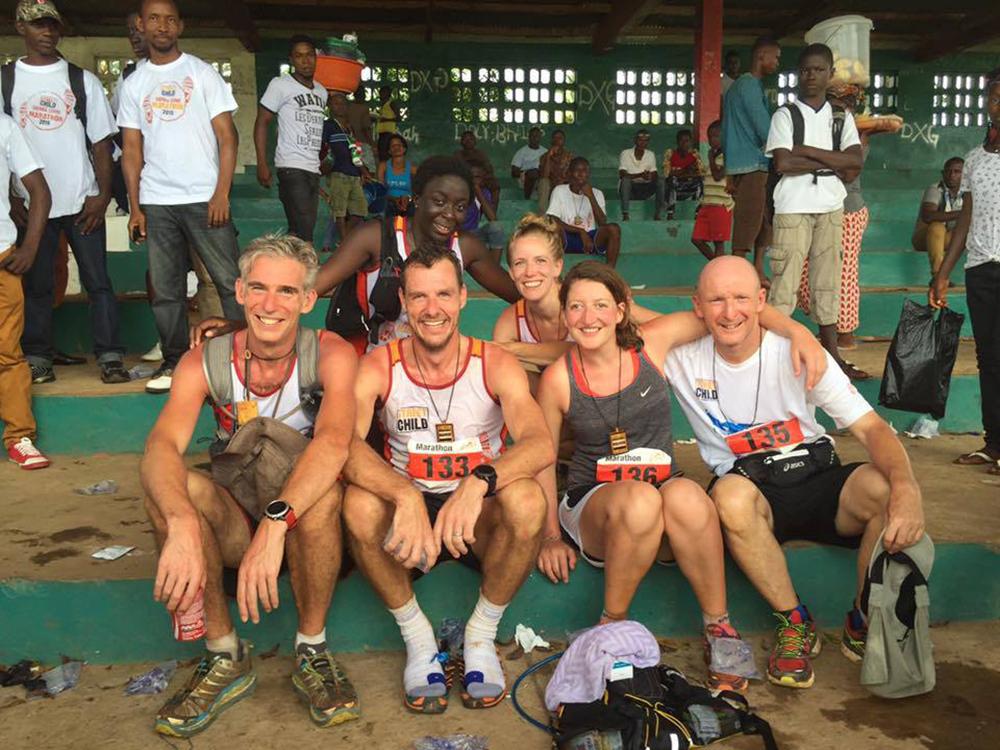 Sierra Leone Marathon - Anne Beuken 1