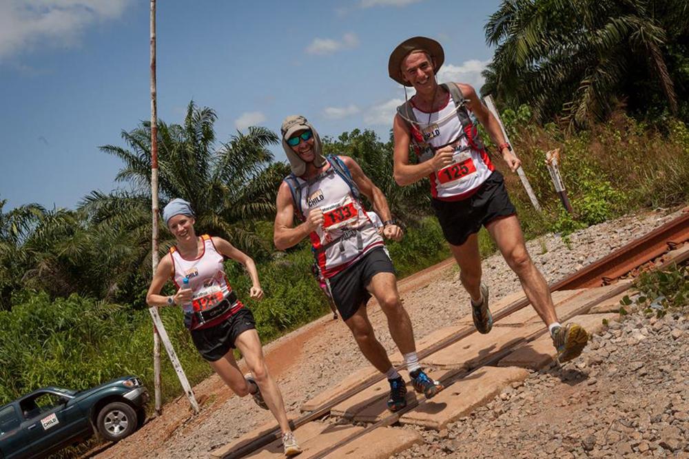 Sierra Leone Marathon - Anne Beuken 2