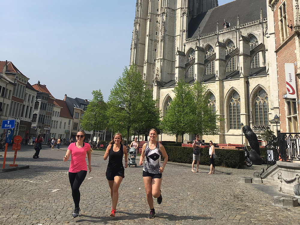 Girls and Boys Run Mechelen 1