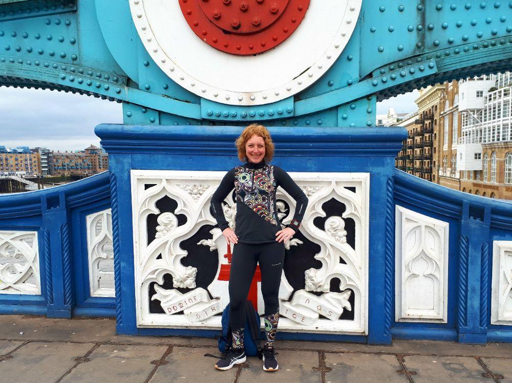 Hardlopen in Londen - vrolijke kleuren Towerbridge