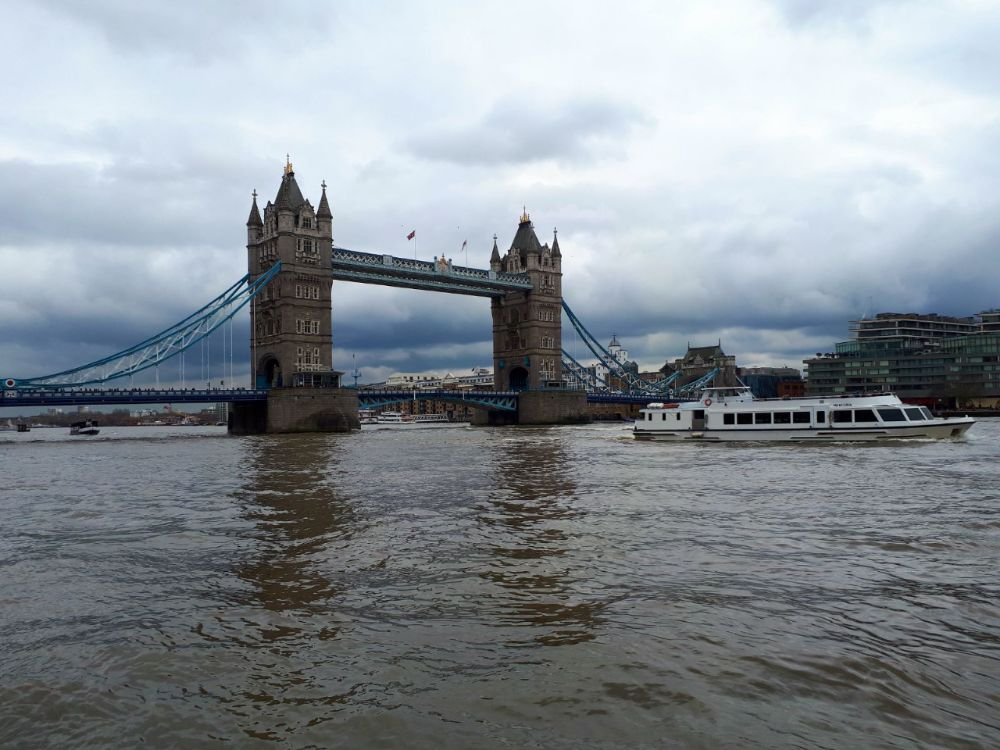 Hardlopen in Londen - Tower Bridge