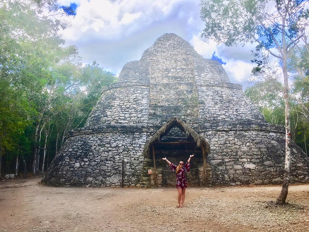 Maya-ruïne Coba Mexico 2