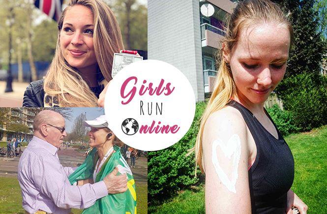 Girls Run Online April