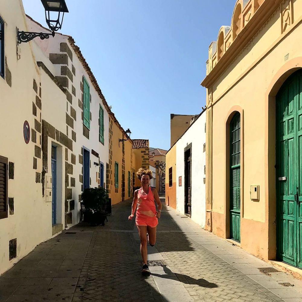 Hardlopen op Gran Canaria, Aguimes