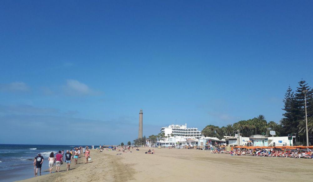 Hardlopen op Gran Canaria, de vuurturen Faro
