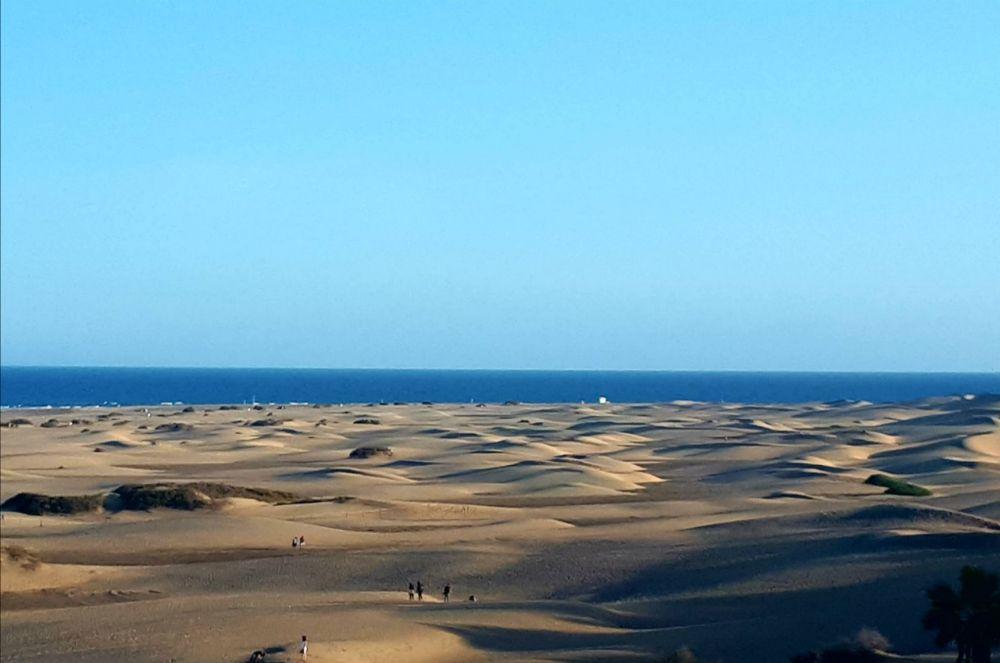Hardlopen op Gran Canaria, de zandduinen