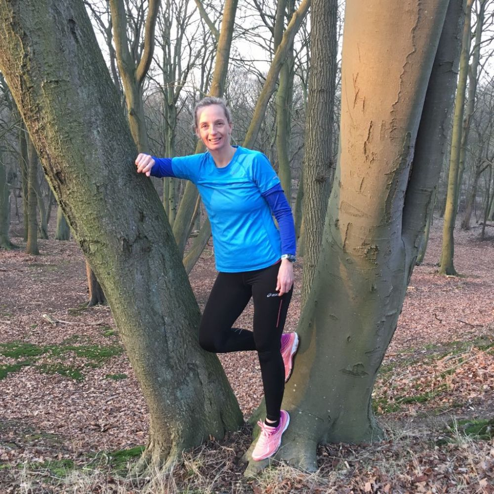 Runninggirl Simone sportvrouw