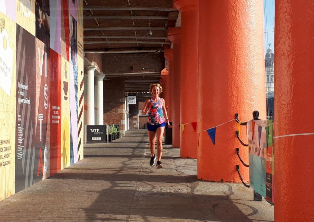 Hardlopen in Liverpool - Albert Docks