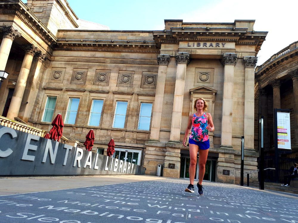 Hardlopen in Liverpool - Central Librairy