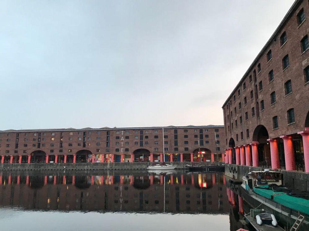 Hardlopen in Liverpool - Royal Albert Docks