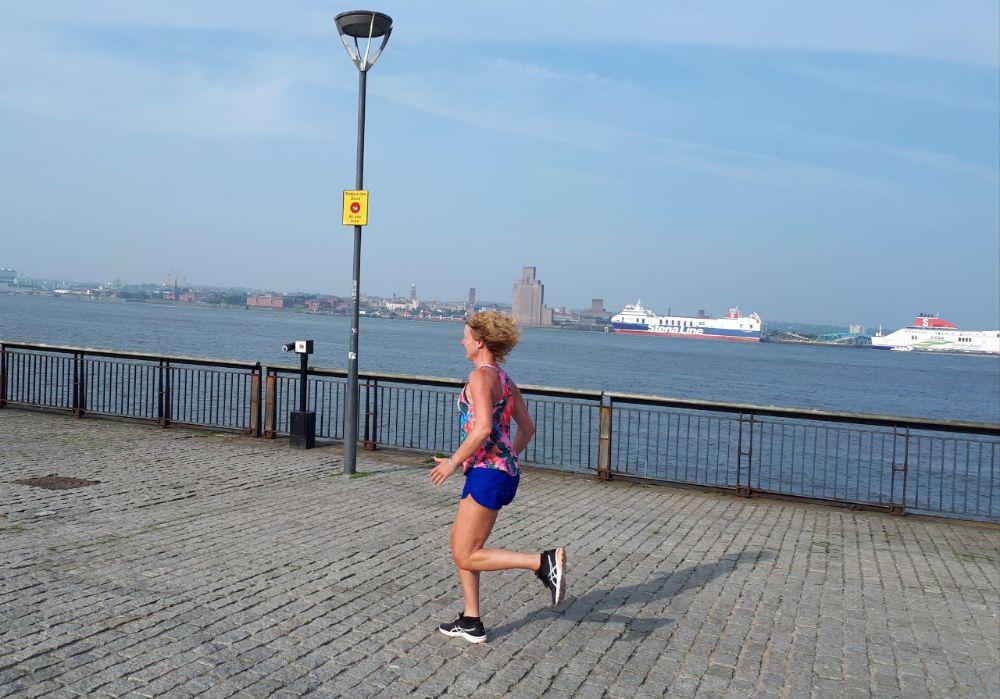 Hardlopen in Liverpool - de Mersey