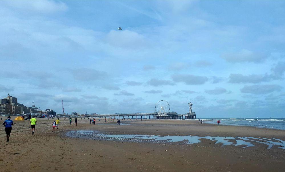 KLM Scheveningen Beach Run - De pier