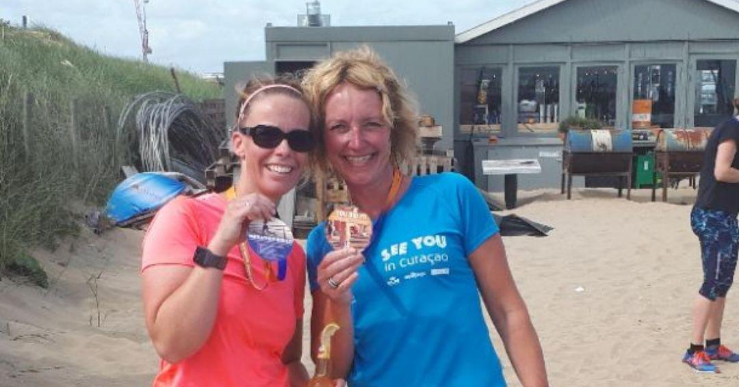 KLM Scheveningen Beach Run - medailles