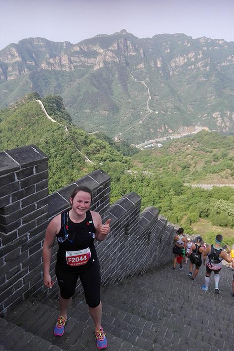 Hardlopen halve marathon Chinese Muur