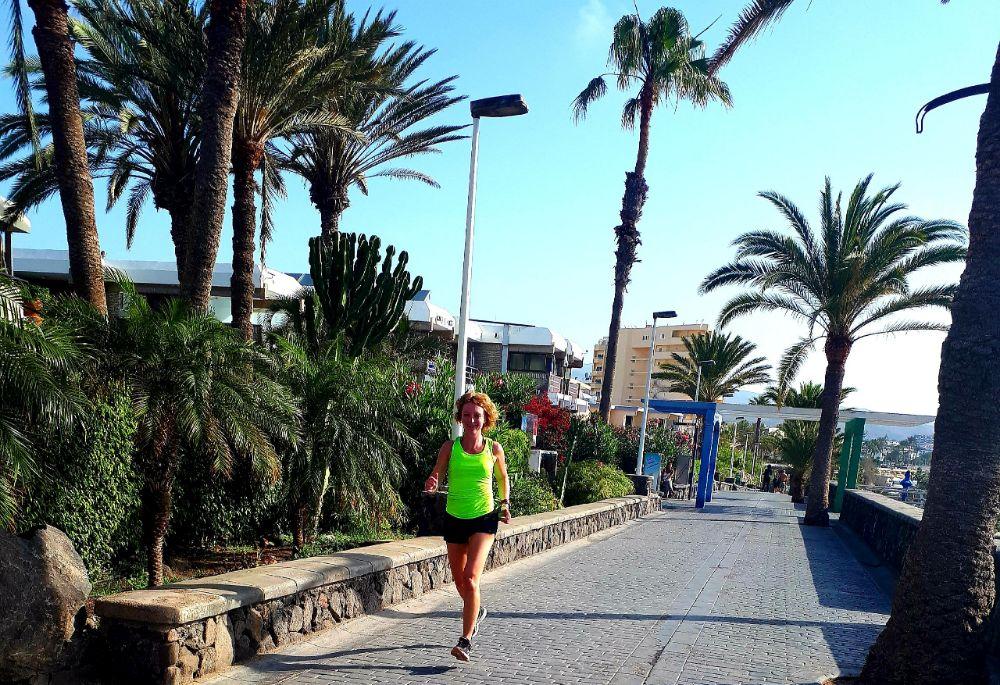 Hardlopen en reizen - Gran Canaria