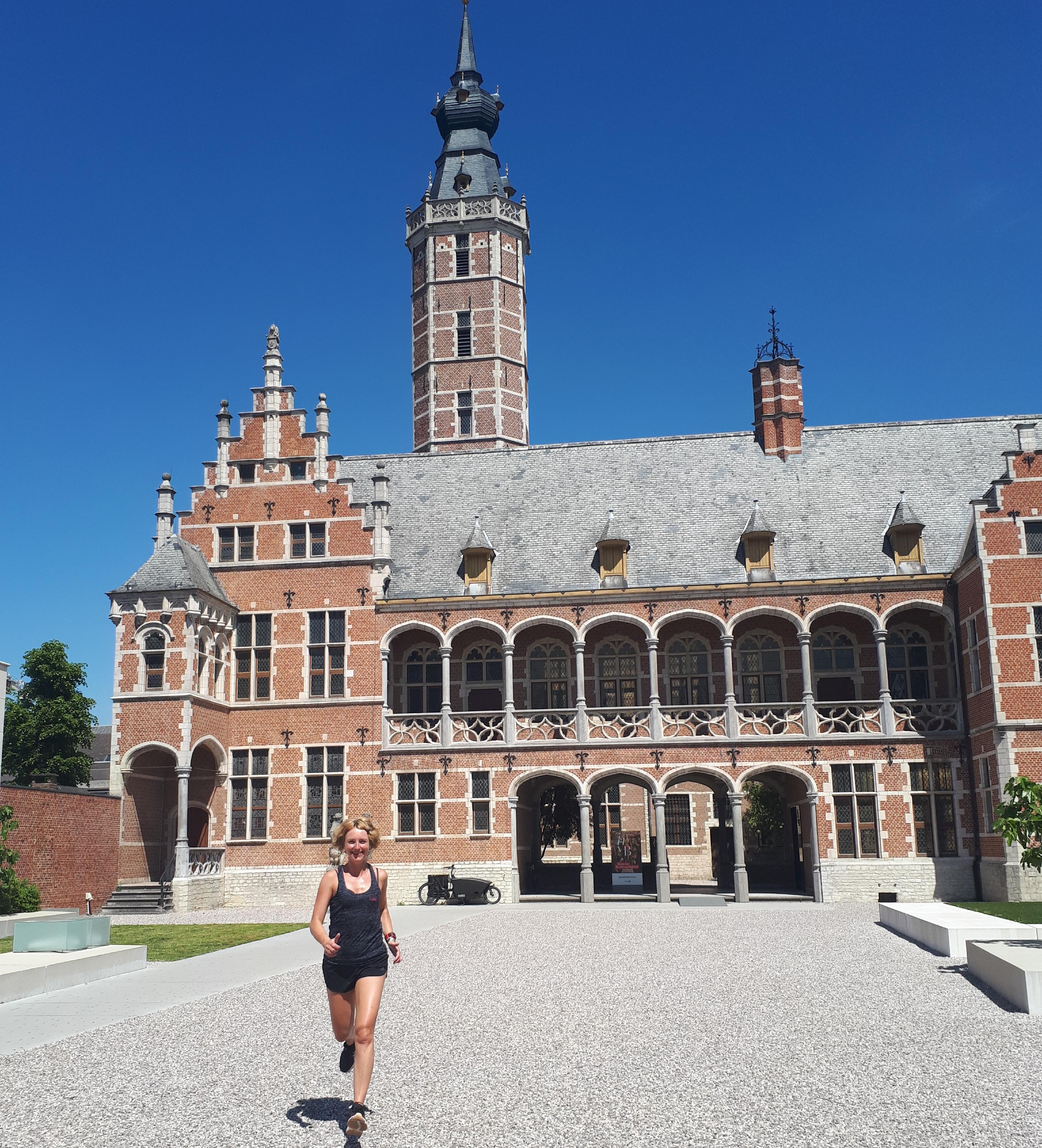 Hardlopen en reizen - Mechelen