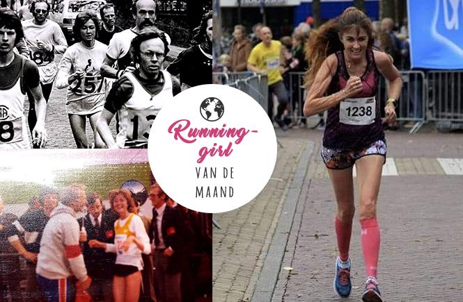 Runninggirl van de maand Marja Bak