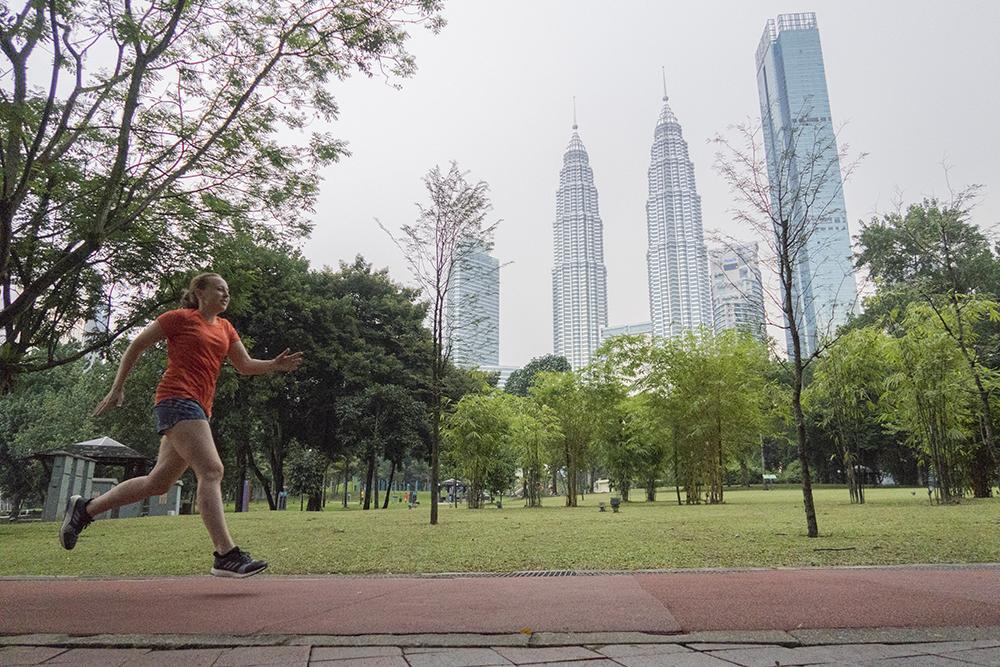 Hardlopen in Kuala Lumpur 1