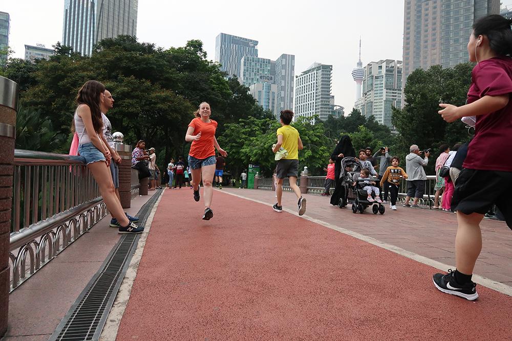 Hardlopen in Kuala Lumpur 2