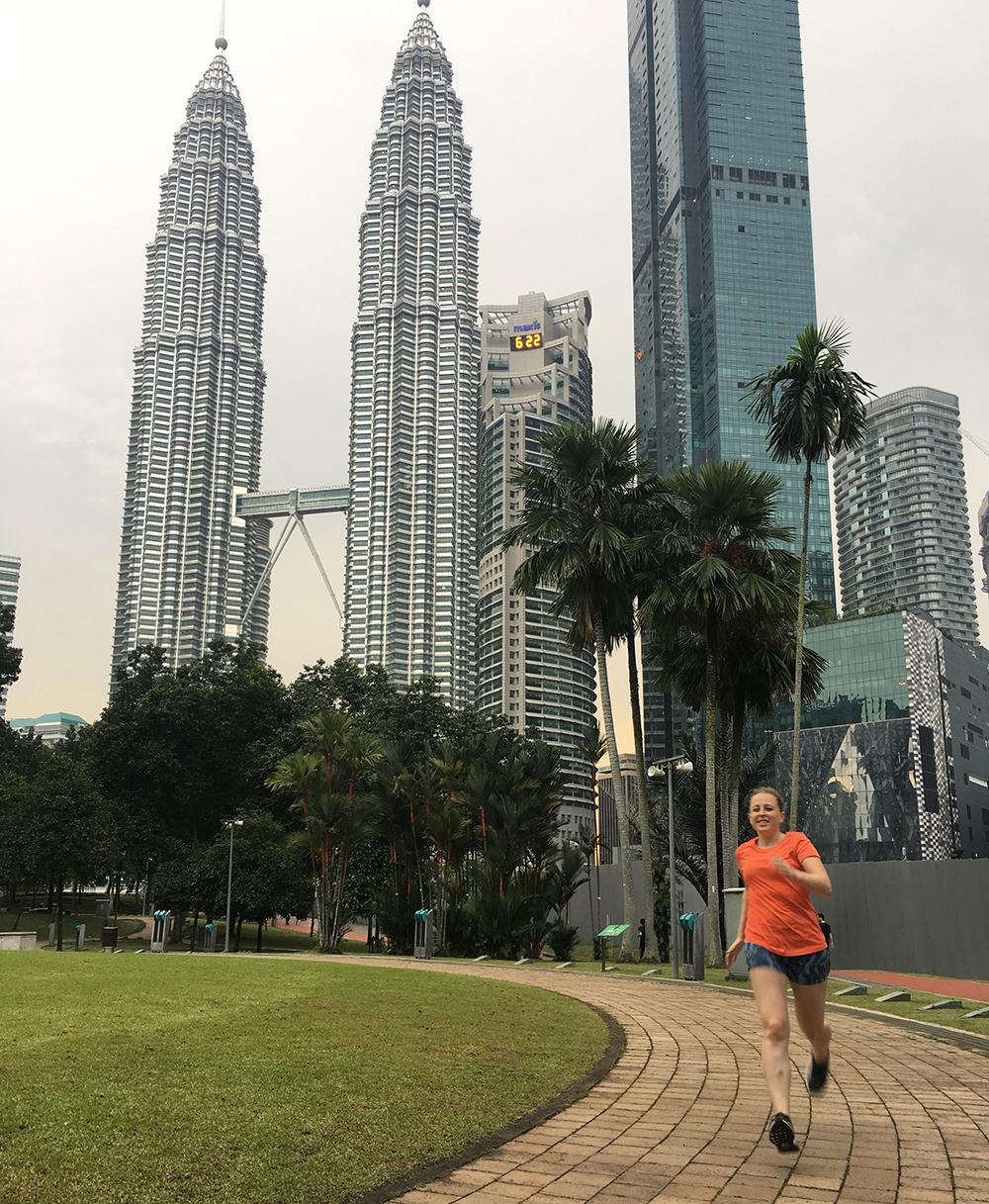 Hardlopen in Kuala Lumpur 3