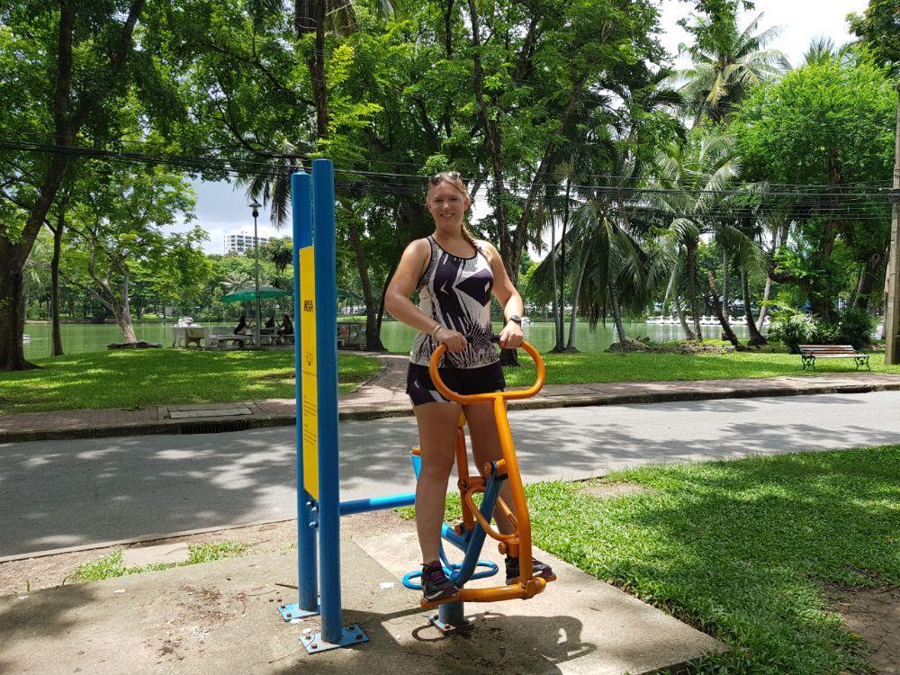 Lumpini Park oefeningen