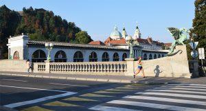 Hardlopen Ljubljana dragon bridge