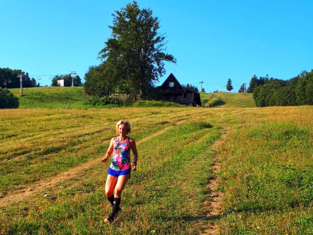 Hardlopen in Pohorje - de skipiste