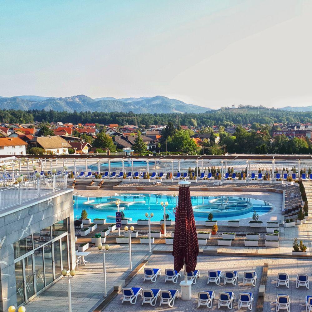 Hardlopen in Pohorje - relaxen bij het zwembad