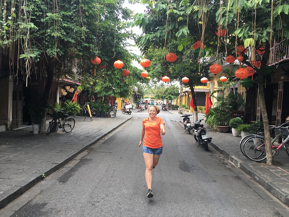 Hardlopen in Hoi An Vietnam 1
