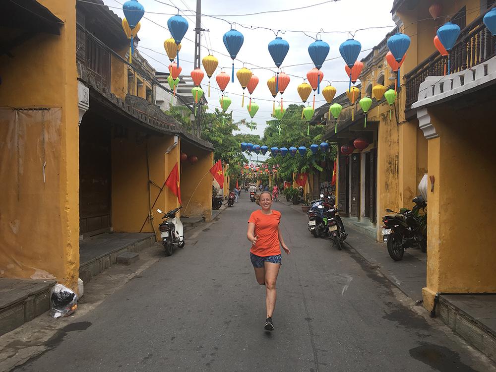 Hardlopen in Hoi An Vietnam 3