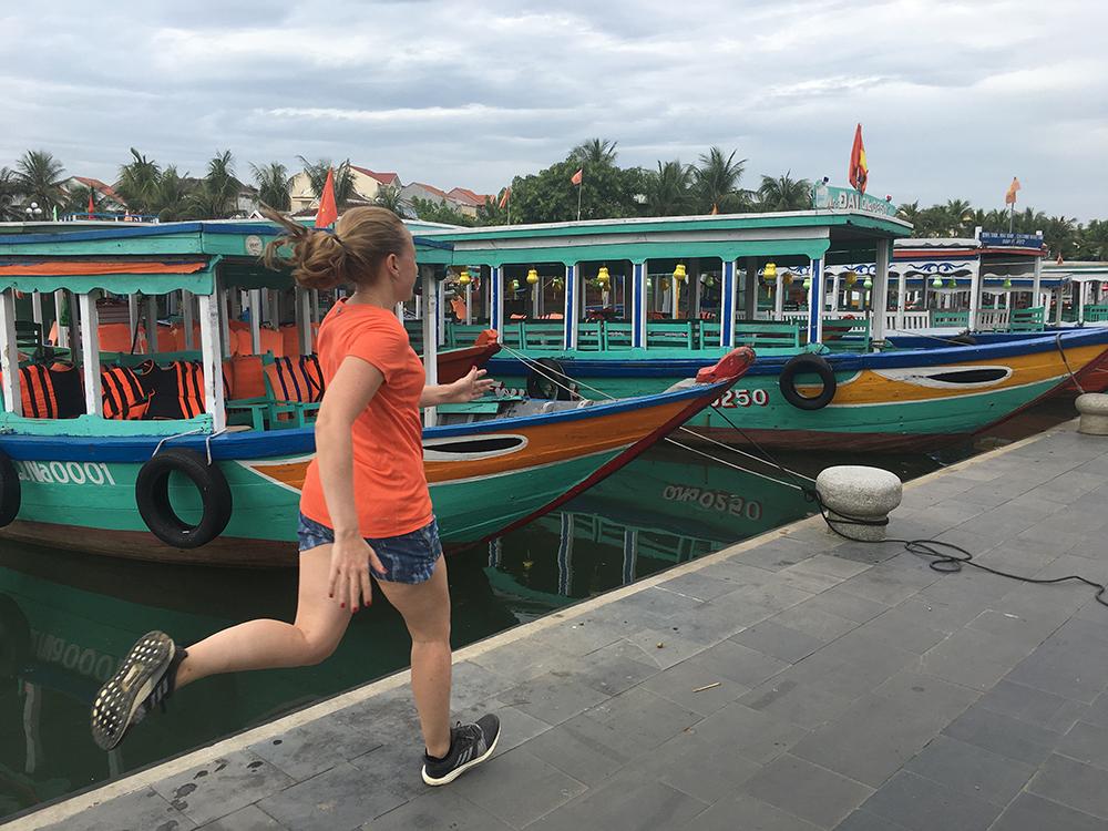 Hardlopen in Hoi An Vietnam 5