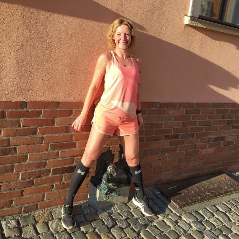 Hardlopen in Wroclaw - kabouters