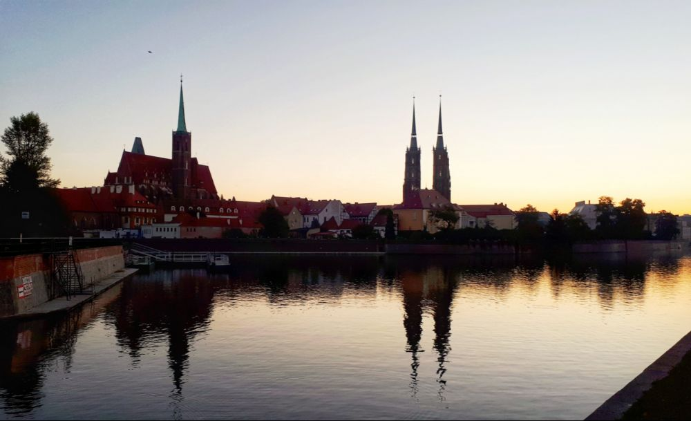 Hardlopen in Wroclaw - skyline