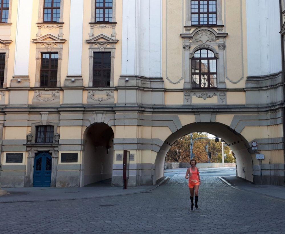 Hardlopen in Wroclaw - universiteit