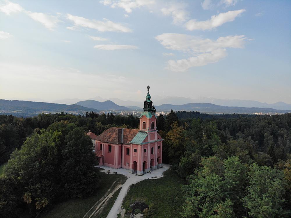 cankarjev vrh hardlopen ljubljana slovenie