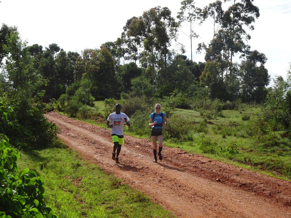 Rift Valley Marathon - eigen pacer