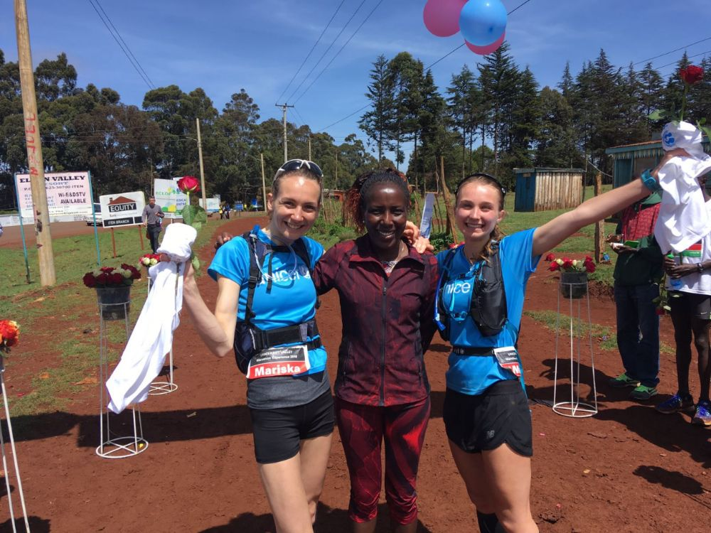 Rift Valley Marathon - met Lornah